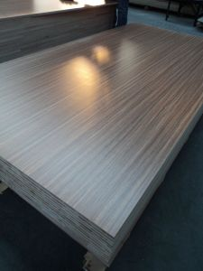 Melamine MDF for Furniture, Walnut MDF, Decorative MDF, AA Grade MDF, Size 1220X2440X18mm pictures & photos