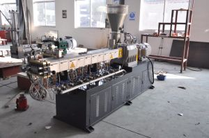 Lab Twin Screw Extruder Tse-20 in Plastic Machinery pictures & photos