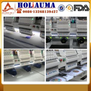 High Speed 4 Heads Computerized Embroidery Machine Barudan Knitting Sewing Machine China Good Quality Flat Embroidery Machine pictures & photos