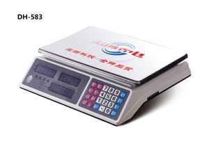 Electronic Table Price Computing Scale with LCD Display pictures & photos