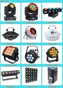 Small 18X3watt RGB LED Wash Moving Head Light pictures & photos