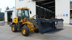 Loading 800kg 1 Ton 1.2 Ton 1.6 Ton 1.8 Ton 2 Ton China Mini Wheel Loader Small Wheel Loader with Ce pictures & photos