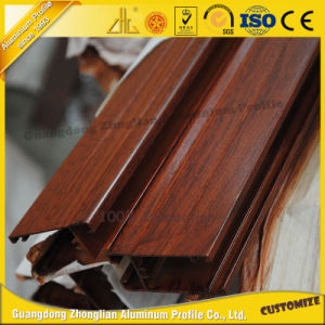 High Quality Wood Grain Aluminum Profile pictures & photos