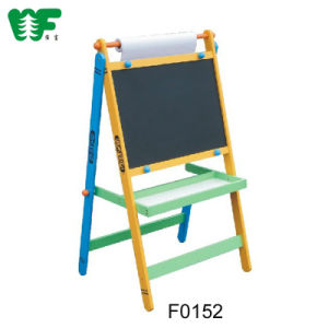 Kids Cheap Blackboard and Whiteboard Mini Wood Easel pictures & photos