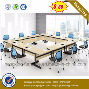 White Color Melamine Office Desk Conference Meeting Table (NS-CF013) pictures & photos