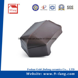 Clay Roofing Tile Building Material Flat Tile 310*340mm Made in China pictures & photos