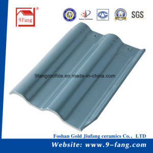 Chinese Villa Interlocking Roof Tiles Ceramic Roofing Tile Building Material Factory pictures & photos