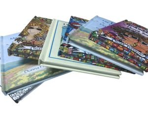 Mini Hardcover Book Printing / Fancy Paper Story Book Printing pictures & photos