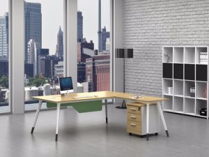 White Customized Metal Steel Office Executive Table Frame Ht78-2 pictures & photos
