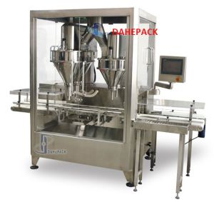 Automatic Super High Speed Filling Machine for Chocolate Whey Protein Powder pictures & photos