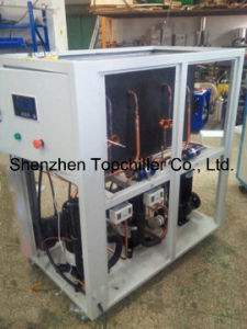 Milk Cooling Process Industrial Water Cooled Glycol Chiller Factory Suppliers pictures & photos