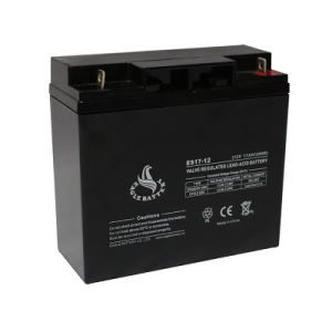 12V 17ah AGM Mf VRLA Lead Acid Storage Rechargeable Battery