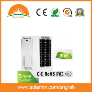 (HM-12100A) 12V100W Mono Panels LED All in One Solar Street Light pictures & photos