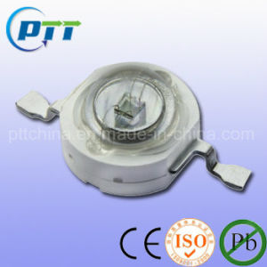1W Yellow High Power LED, 585-590nm, 350mA, 50-60lm pictures & photos