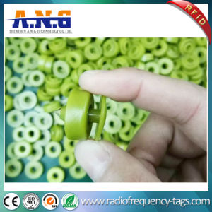 Customized Livestock Animal RFID Ear Tags Tracking NFC UHF Barcode pictures & photos
