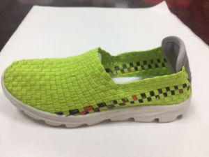Hot Sale Brand Woven Sport Casual Shoes for Men pictures & photos