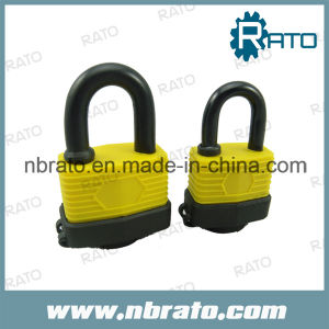 Water Proof Brass Cylinder Laminated Padlock pictures & photos