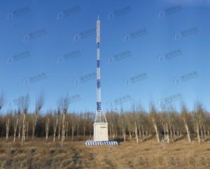 Hot DIP Galvanized Integrated Telescopic Steel Mast Tower Station pictures & photos