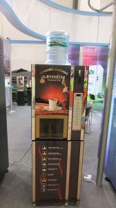 F306-Dx Hot and Cold Nescafe Coffee Vending Machine pictures & photos
