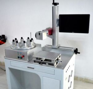 LED Fiber Laser Marking Machine 30W 50W for LED Engraving pictures & photos