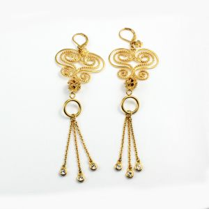 Wholesale 18k Gold Earrings for Women Stainless Steel Earrings Jewelry pictures & photos