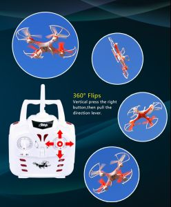 Hot Sell Remote Control Helicopter 2.4G 4CH Drone with HD Camera pictures & photos