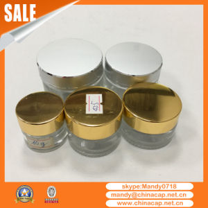 Wholesale Cosmetic Empty Glass Jar with Lids in China pictures & photos