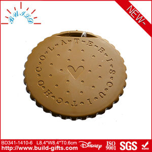 Plastic Pocket Mirror Cookies Shape pictures & photos