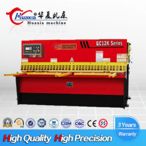 Hydraulic Swing Beam Shear QC12k-13*3200 pictures & photos