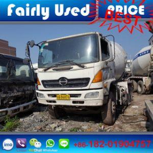 Japan Hino Used Mixer Truck, Hino Truck Mixer pictures & photos