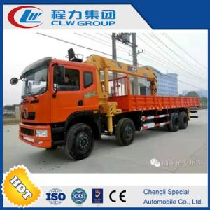 20 Tons Straight Arm Truck Mounted Crane pictures & photos
