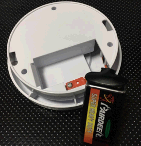 9V Battery European Standard Smoke Alarm (KD-108) pictures & photos