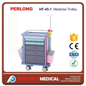 Most Popular Factory Wholesale Medicine Trolley Hf-45-1 pictures & photos