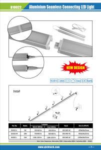 10W AC Input Linkable Aluminium Sealess LED Light Bar pictures & photos