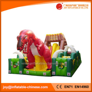 Tyrannosaurus 3 in 1 Castle Slide Combo Bouncy Castle (T6-211) pictures & photos