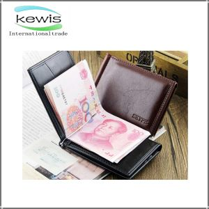 Customized Casual High Quality Men′s Wallet pictures & photos