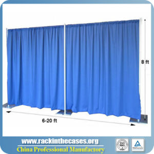 High Quality Pipe Drape Show Booth Display Easy Install Event Pipe and Drape Supplies pictures & photos