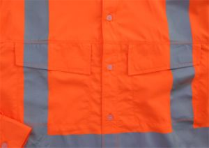 Fuzhou Clothing Factory 100% Polyester Work Hi Vis Shirt pictures & photos