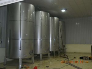 Dual-Layer Stainless Steel Storage Tank for Fluid Liquid pictures & photos