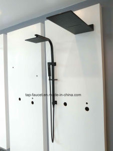 Stainless Steel 304 Lead Free Top Quality Shower Set Life Time Brushed Finish pictures & photos