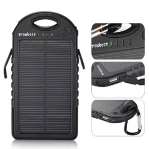 Solar Charger 12000mAh Dual USB Port Portable Backup Power pictures & photos