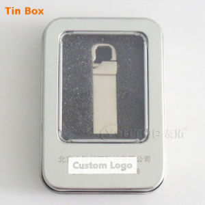 Personalized Logo Silvery Metal Hook USB3.0 Flash Memory (YT-3258-03) pictures & photos