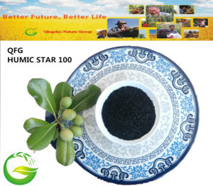China Supplier Powder Soluble Humate Potassium pictures & photos