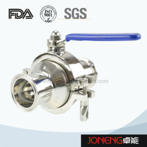 Stainless Steel Food Grade Three Way Ball Valve (JN-BLV2004) pictures & photos