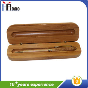 Promition Gift Bamboo Pen Box with Pen pictures & photos