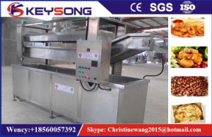 Continous Belt Food Frying Machine pictures & photos