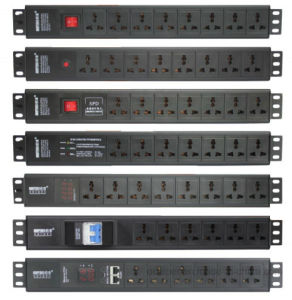 220V 16A Rackmount Intelligent Display PDU pictures & photos