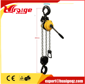 Lever Hoist, 0.25t, 0.75t, 1.5t, 3t, 6t, Standard Lift 1.5m pictures & photos