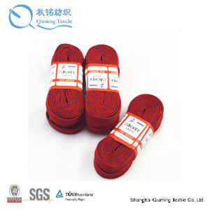 China High Quality Waxed and Waterproof Grass Hockey Shoelaces pictures & photos