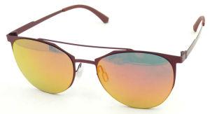 FM171257 New Design Elegent Lady Heart Shape Metal Sunglasses Mirror Lens pictures & photos